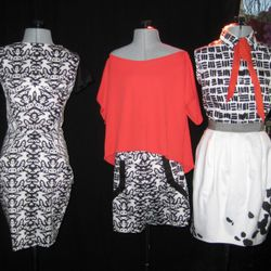 Some of the winning garments from Episode 7