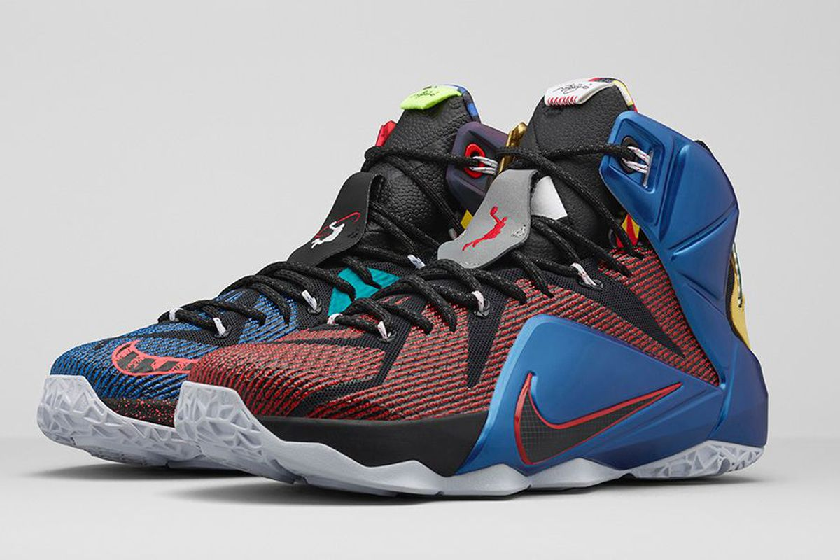 best sneakers cf363 ecd73 Cavs Kicks: Nike 'What The' LeBron 12 - Fear The Sword