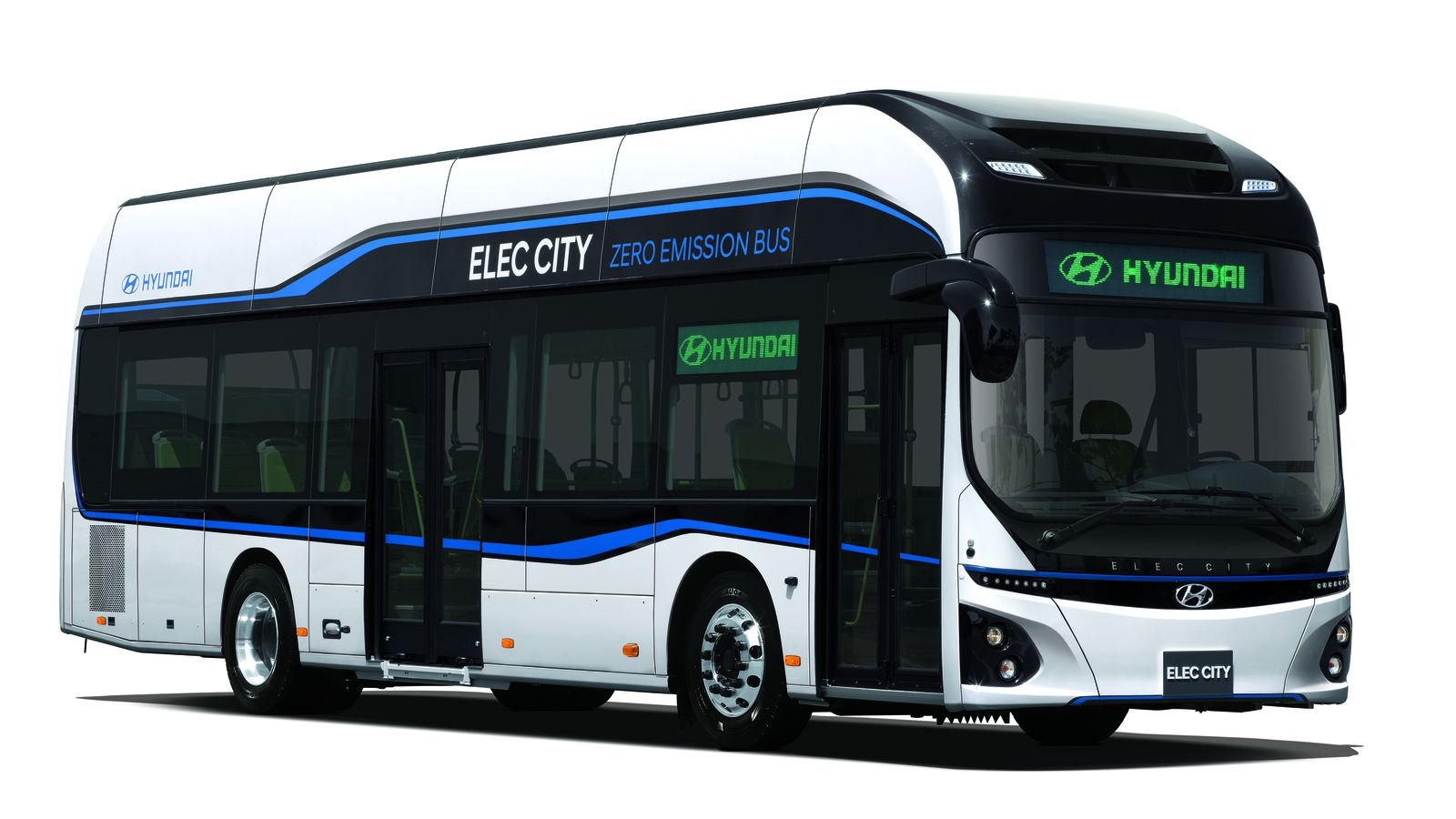 Hyundai's new electric bus has 180 miles of range and ...