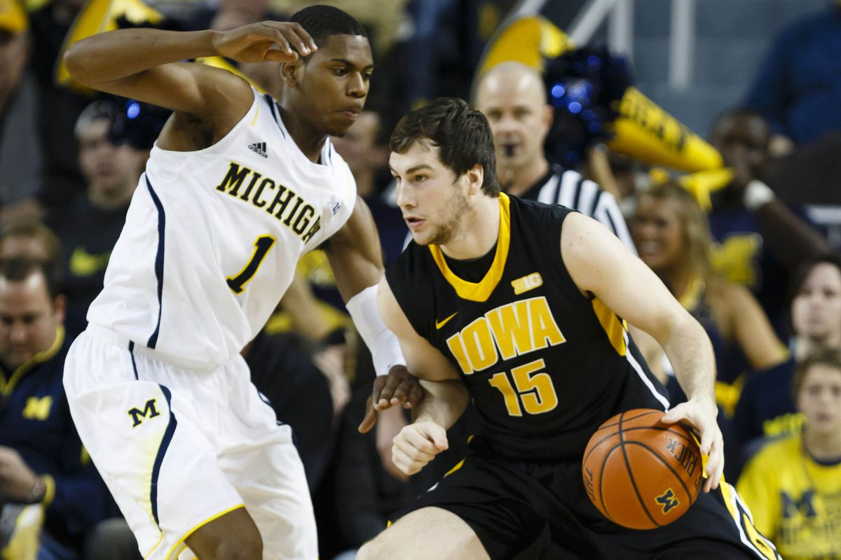McCabe was one of the few bright spots for Iowa in this game.