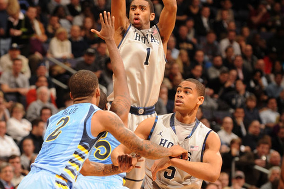 Ncaa Basketball Rankings Georgetown Dips To No 11 After