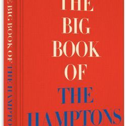 """<b>The Book:</b> <a href=""""http://mendo.nl/books/the-big-book-of-the-hamptons?shelf=interior-design"""">The Big Book of the Hamptons</a> by Michael Shnayerson<br> <b>Picked By:</b> Noreen Chadha, <a href=""""http://ny.racked.com/archives/2014/06/27/beach_reads."""