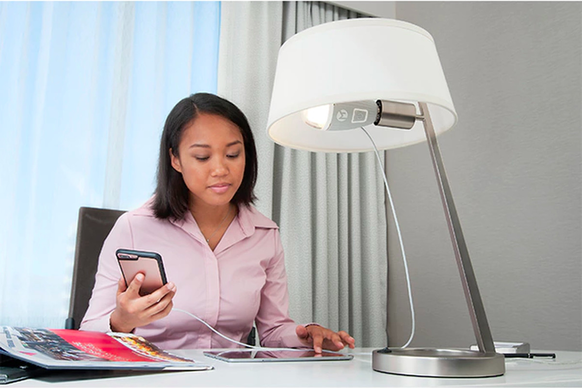 Why would anyone want to charge their phone with a lightbulb? - The