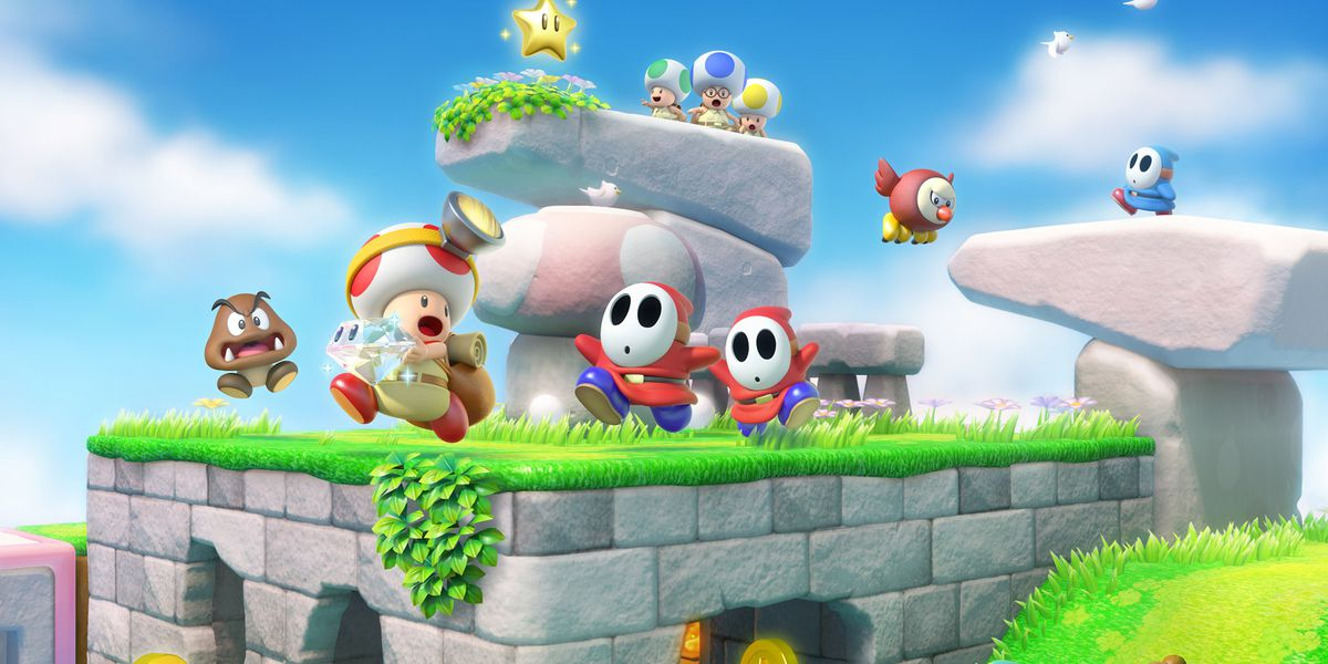 Image result for captain toad treasure tracker
