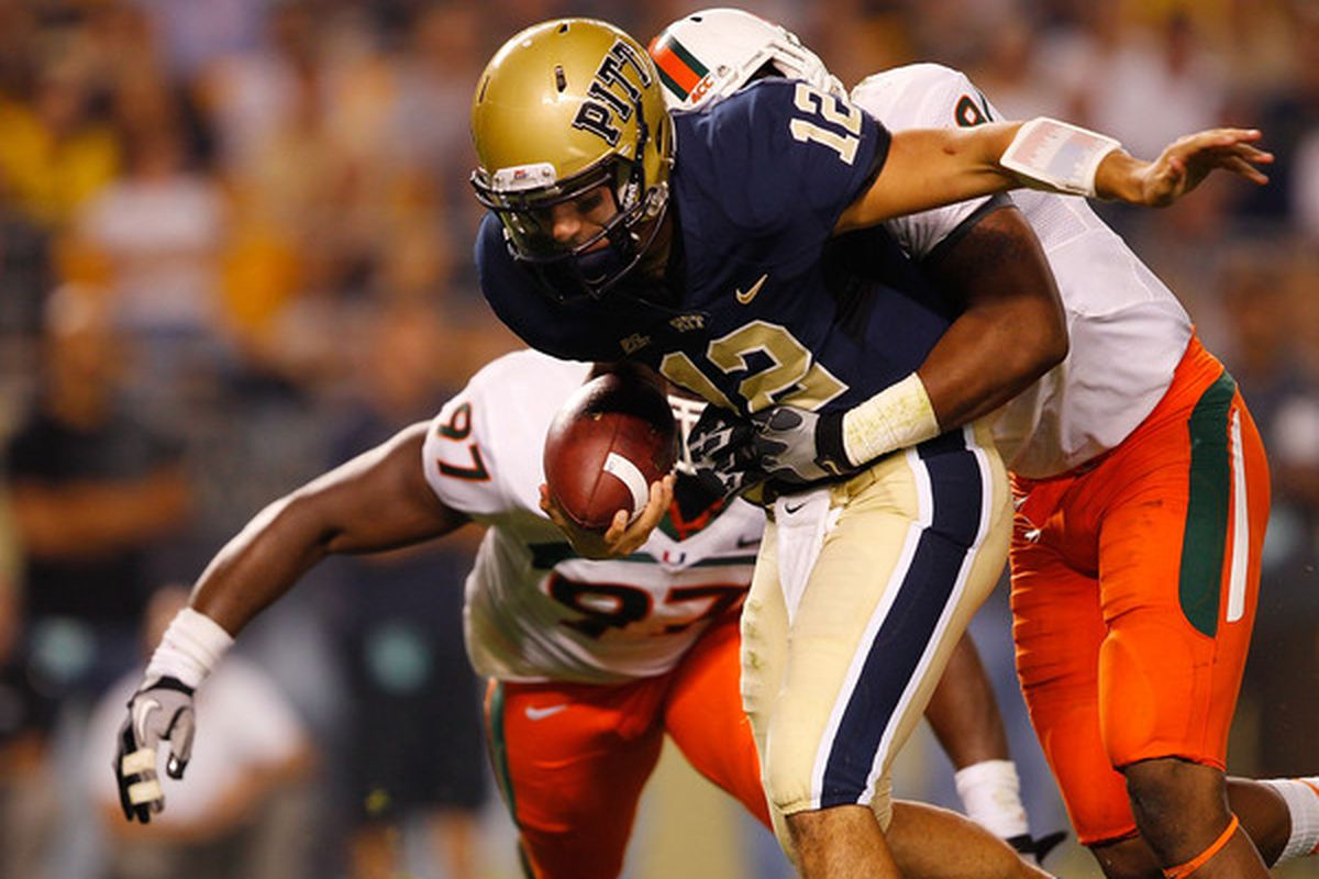 Can Chad Voytik challenge Tino Sunseri this fall? (Photo by Jared Wickerham/Getty Images)
