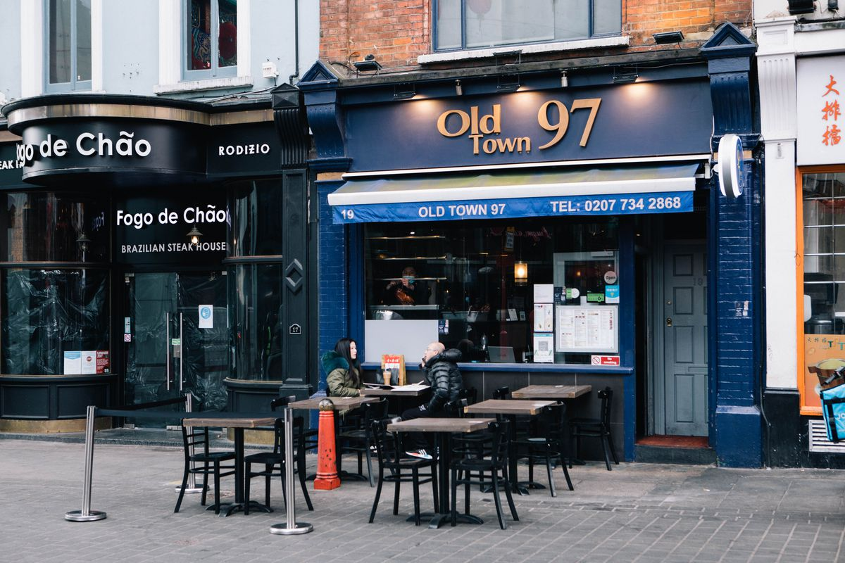 Old Town 97 is a Cantonese restaurant in Chinatown serving dishes like pork belly in honey and pepper egg sauce, and egg fried rice.
