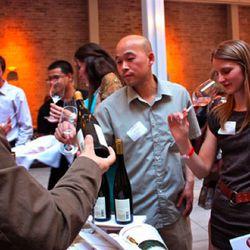 John Vuong of Ame and Janet Viader of Viader Winery