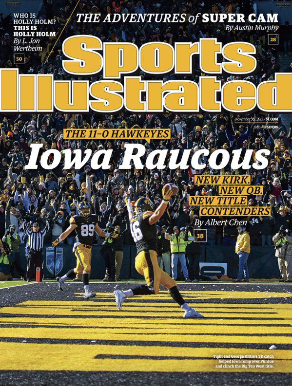 SI cover 2015 kittle