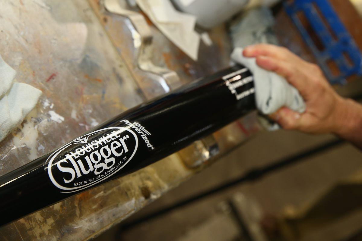 2013 Louisville Slugger World Series Bats Production