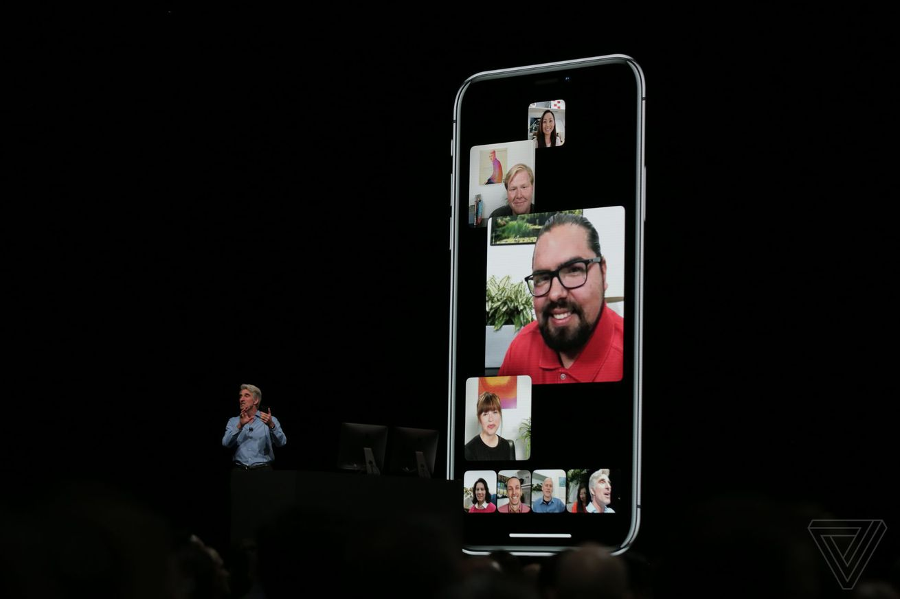 apple delays facetime group chats from ios 12 to a future software update