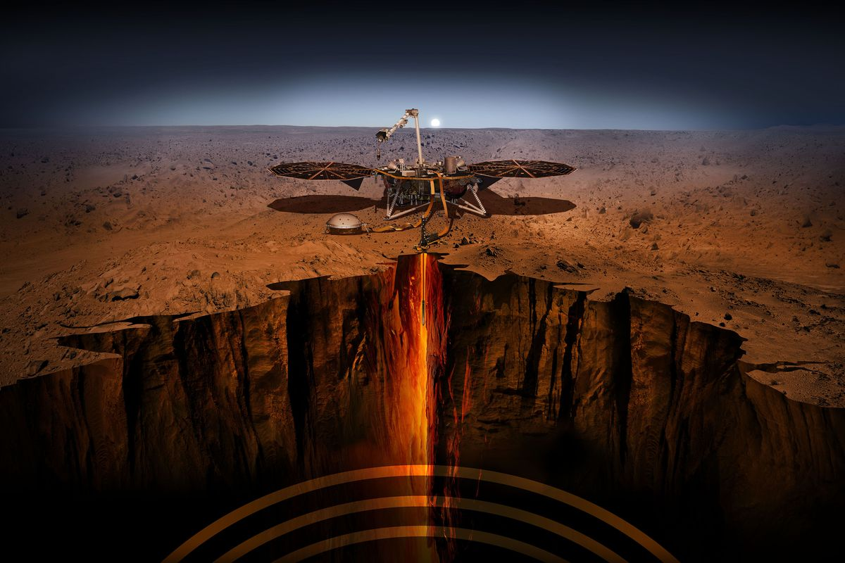 nasa mars insight landing stream - photo #3