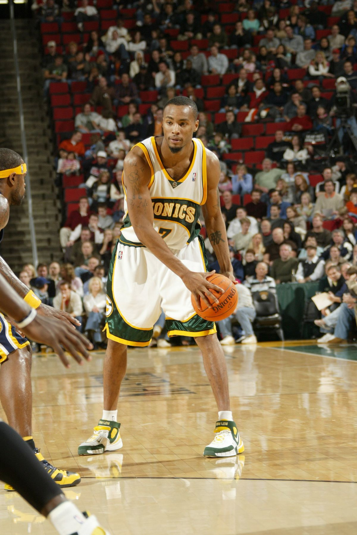WA: Indiana Pacers v Seattle SuperSonics