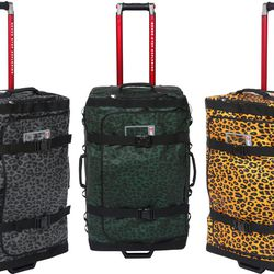 Supreme x The North Face Rolling Thunder Travel Bags; Fall 2011