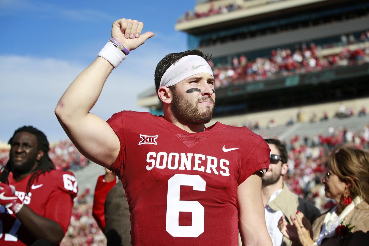 online store 0ae16 a8be1 Oklahoma Football: Baker Mayfield graces the cover of Sports ...