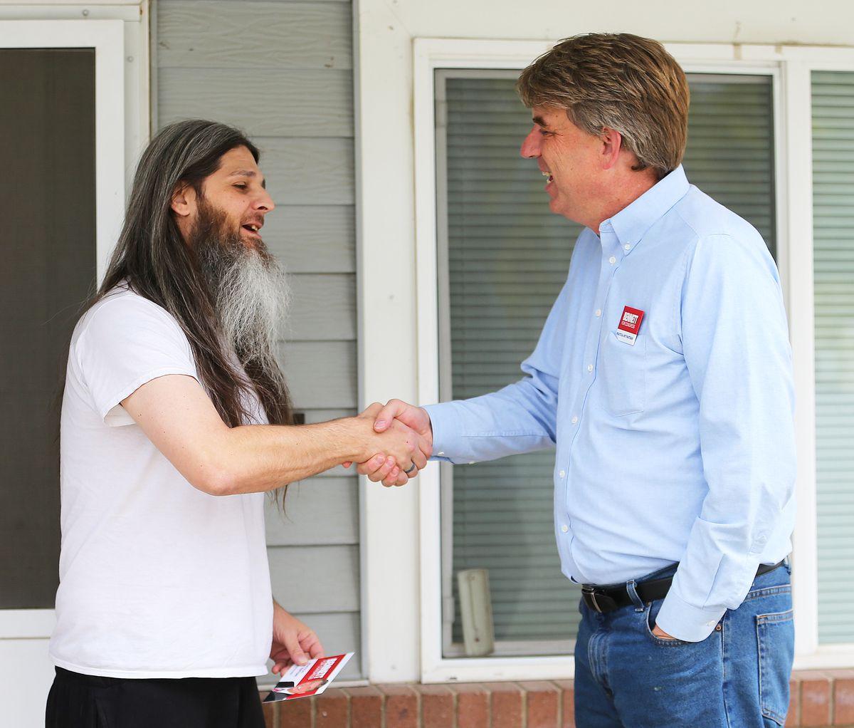 United Utah Party candidate Jim Bennett.