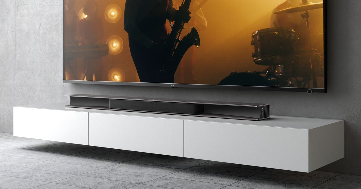 TCL's new soundbar uses reflectors for more immersive Dolby Atmos audio