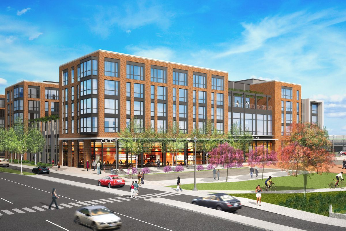 college park metro station will have a new 440 unit mixed use project curbed dc. Black Bedroom Furniture Sets. Home Design Ideas
