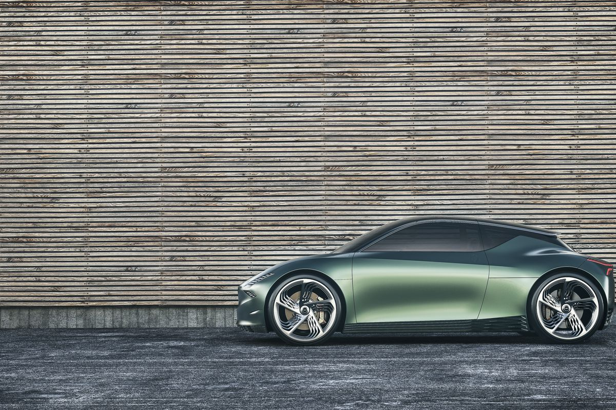Genesis Made A Miniature Mint Green Electric Car For The Urban Future