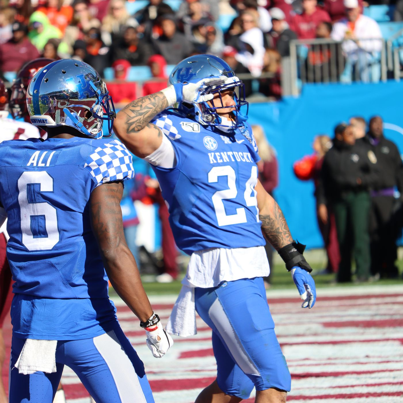 Kentucky Football Espn Fpi Projects Wildcats Record A Sea Of Blue
