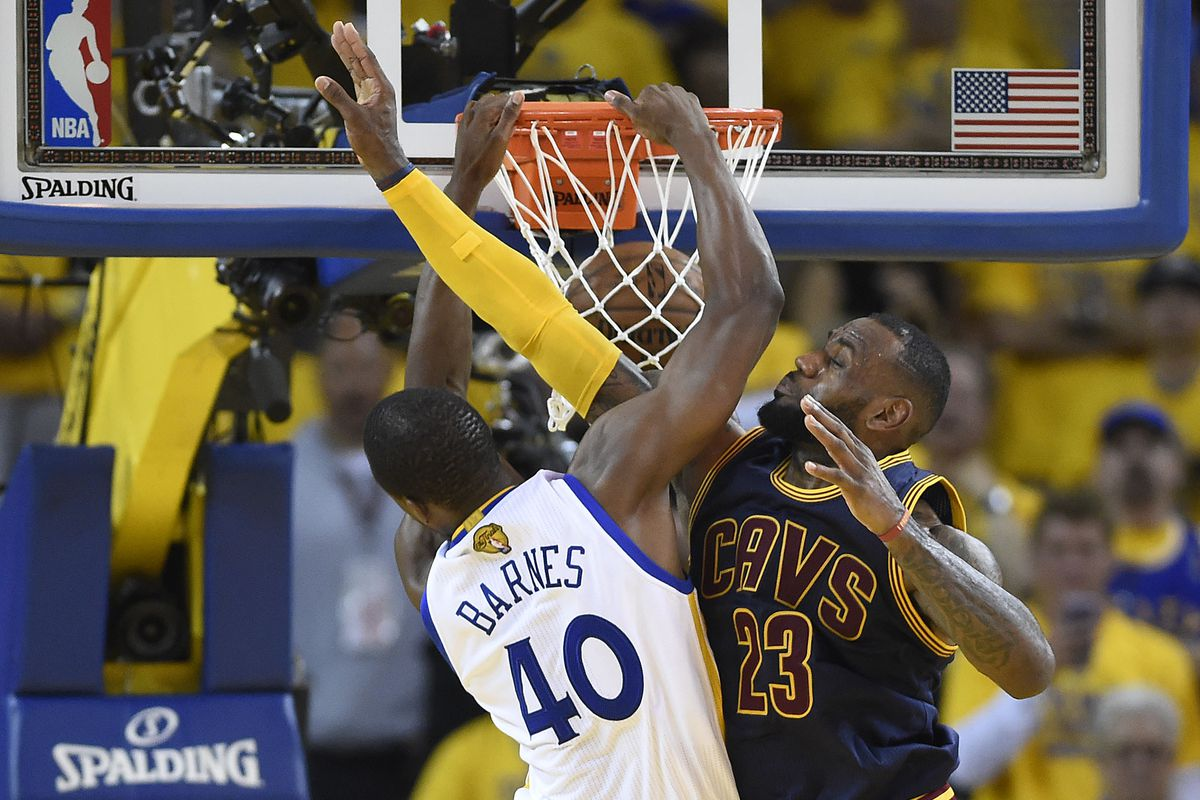 LeBron is no match for the Black Falcon