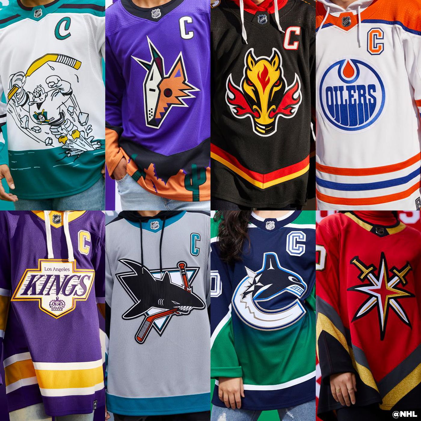 Ranking All 31 Nhl Reverse Retro Jerseys Mile High Hockey