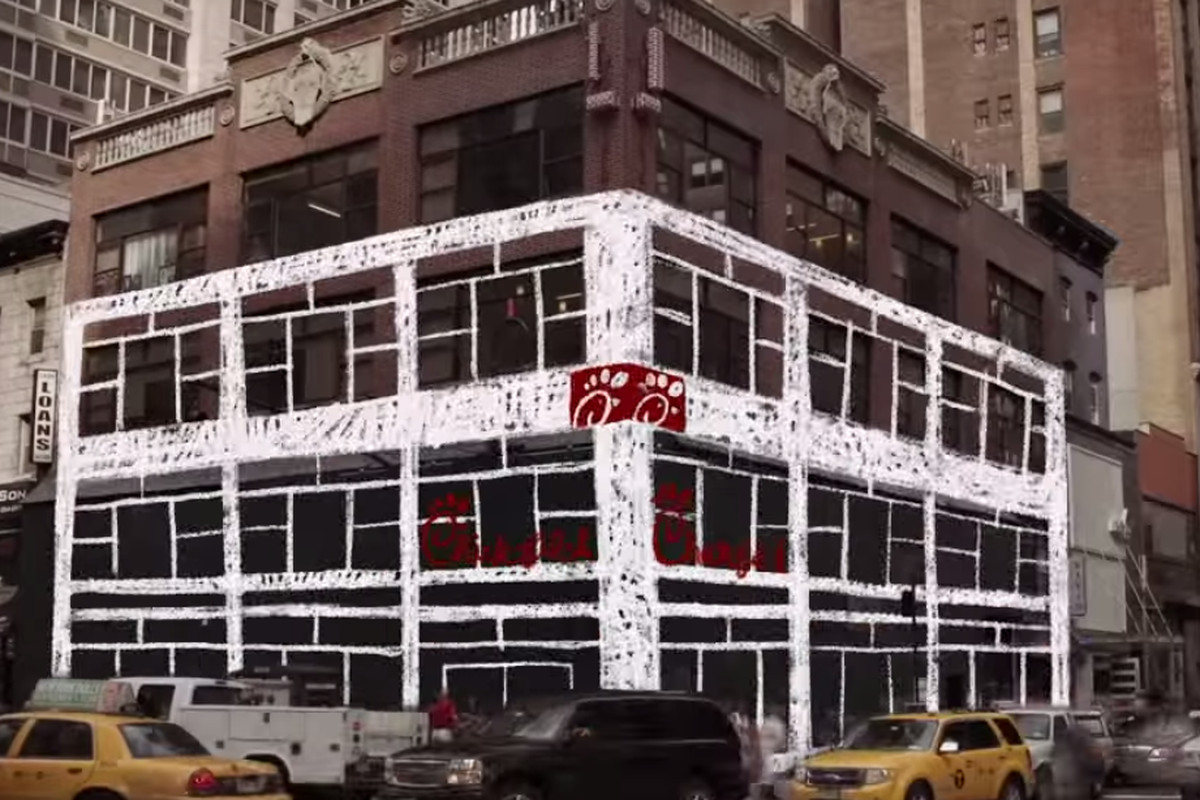 Chick Fil A Death Star To Open Near Herald Square On