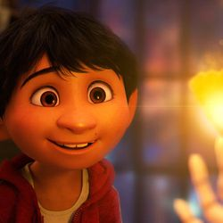 """When aspiring musician Miguel (voice of Anthony Gonzalez) finds himself in the Land of the Dead in Pixar's """"Coco,"""" all he needs to return to the Land of the Living is a blessing from a family member, a magical marigold petal and a promise he's not sure he can make."""