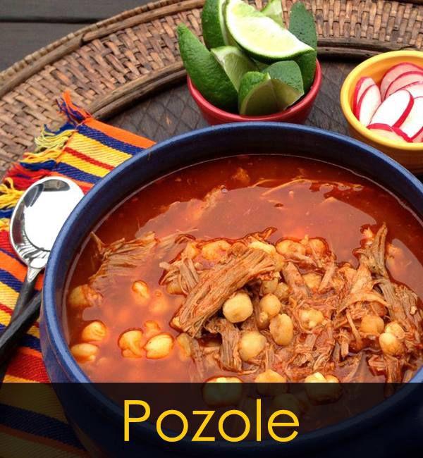 Pozole at Las Cazuelas