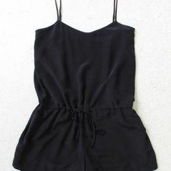 Drawn-waist jumpsuit, $380
