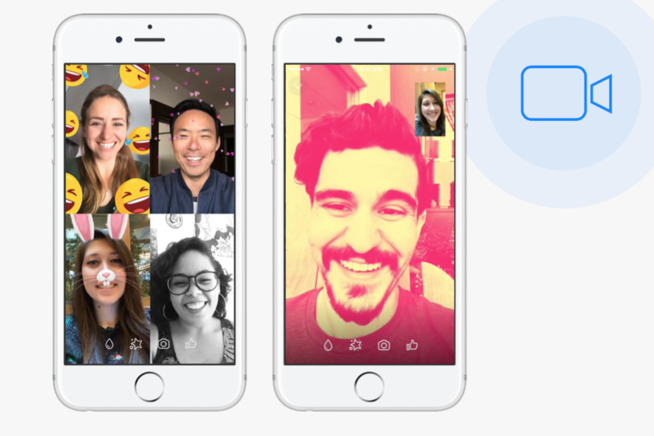 facebook messenger doubles number of video chats to 17 billion in 2017