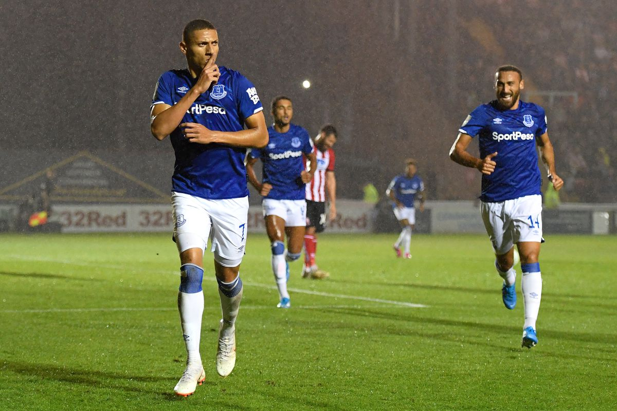Lincoln City v Everton - Carabao Cup Second Round