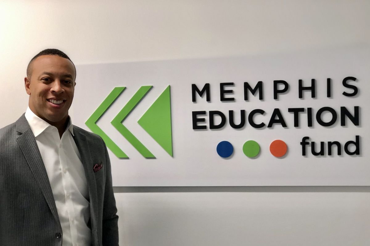 Terence Patterson was the former head of the Downtown Memphis Commission and has been on the Education Fund's board since it began as Teacher Town.