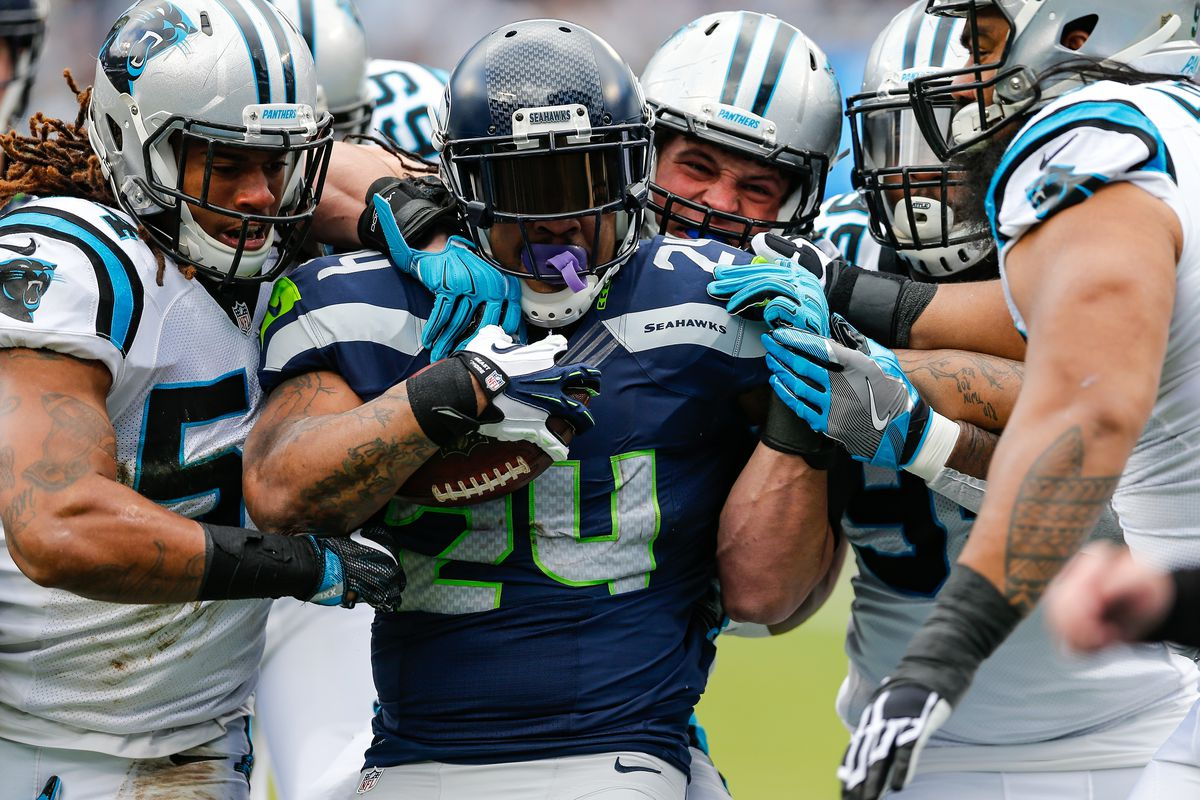 NFL: JAN 17 NFC Divisional Playoff - Seahawks at Panthers