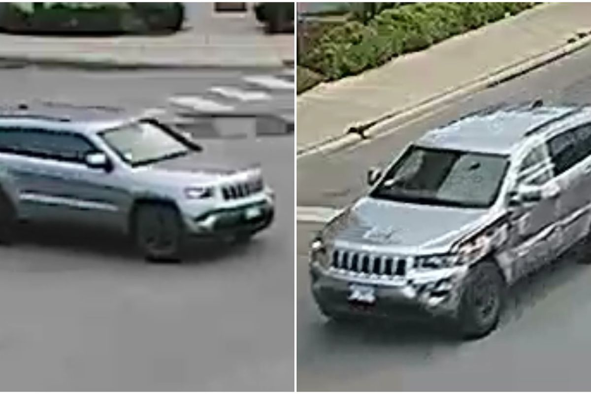 Police seeking Jeep in Bridgeport hit-and-run