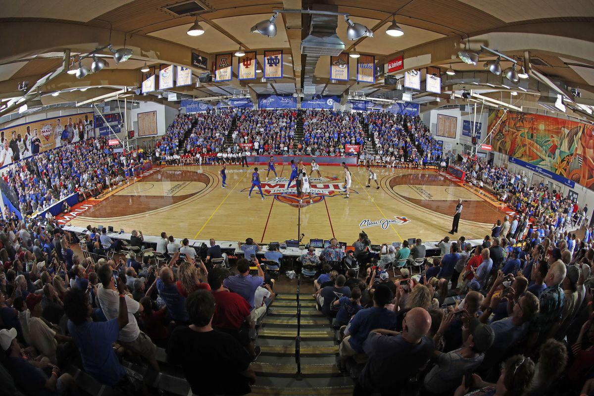 NCAA Basketball: Kansas at Chaminade