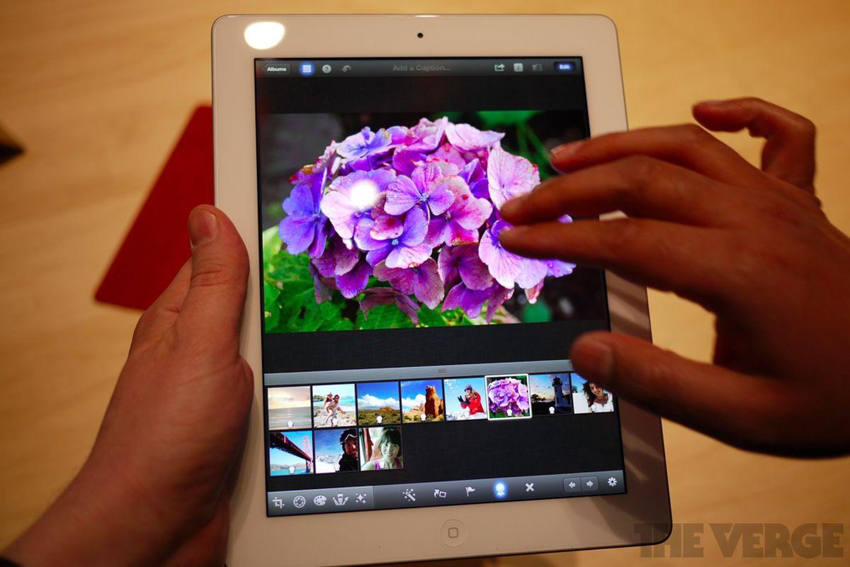 Gallery Photo: New iPad hands-on photos