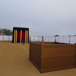 Brigham Young University hosted a full-sized replica of the biblical Tabernacle earlier this year.