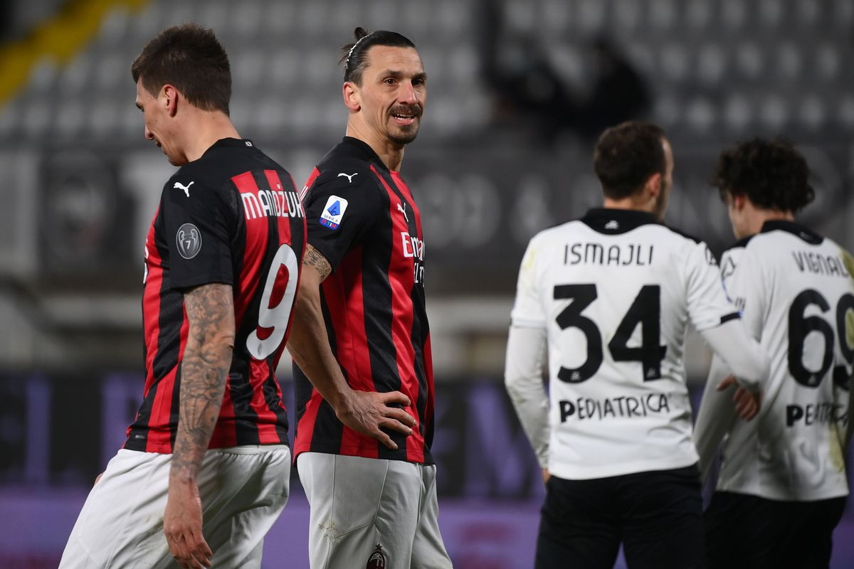AC Milan Will Likely Miss Out On Both Their Experienced Strikers In The  Europa League Clash Against Crvenza Zvezda - The AC Milan Offside