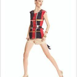 "<a href=""http://www1.macys.com/campaign/social?campaign_id=202&channel_id=1&cm_sp=fashionstar-_-episode10-_-homepagelink&bundle_entryPath=/karaGallery"">Fashion Star Top, Sleeveless Carmen Plaid Blouse</a>, $59 at Macy's"