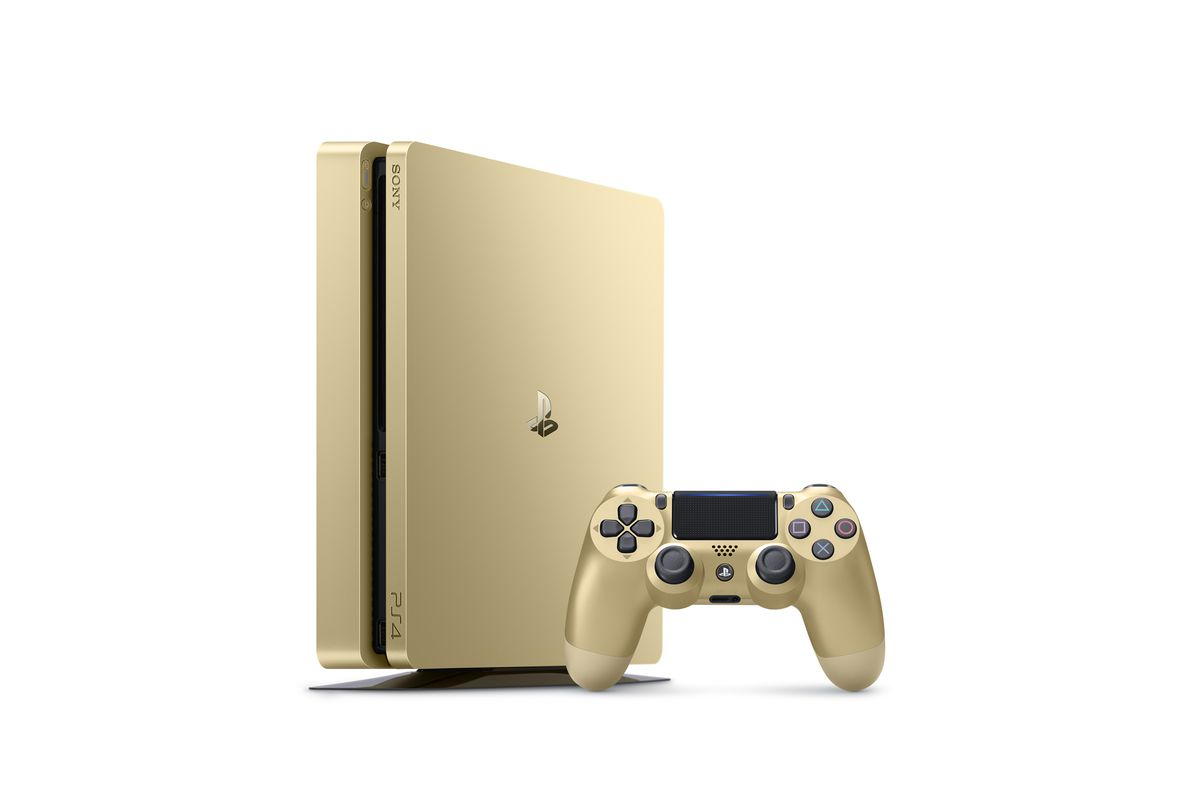 gold limited edition PS4