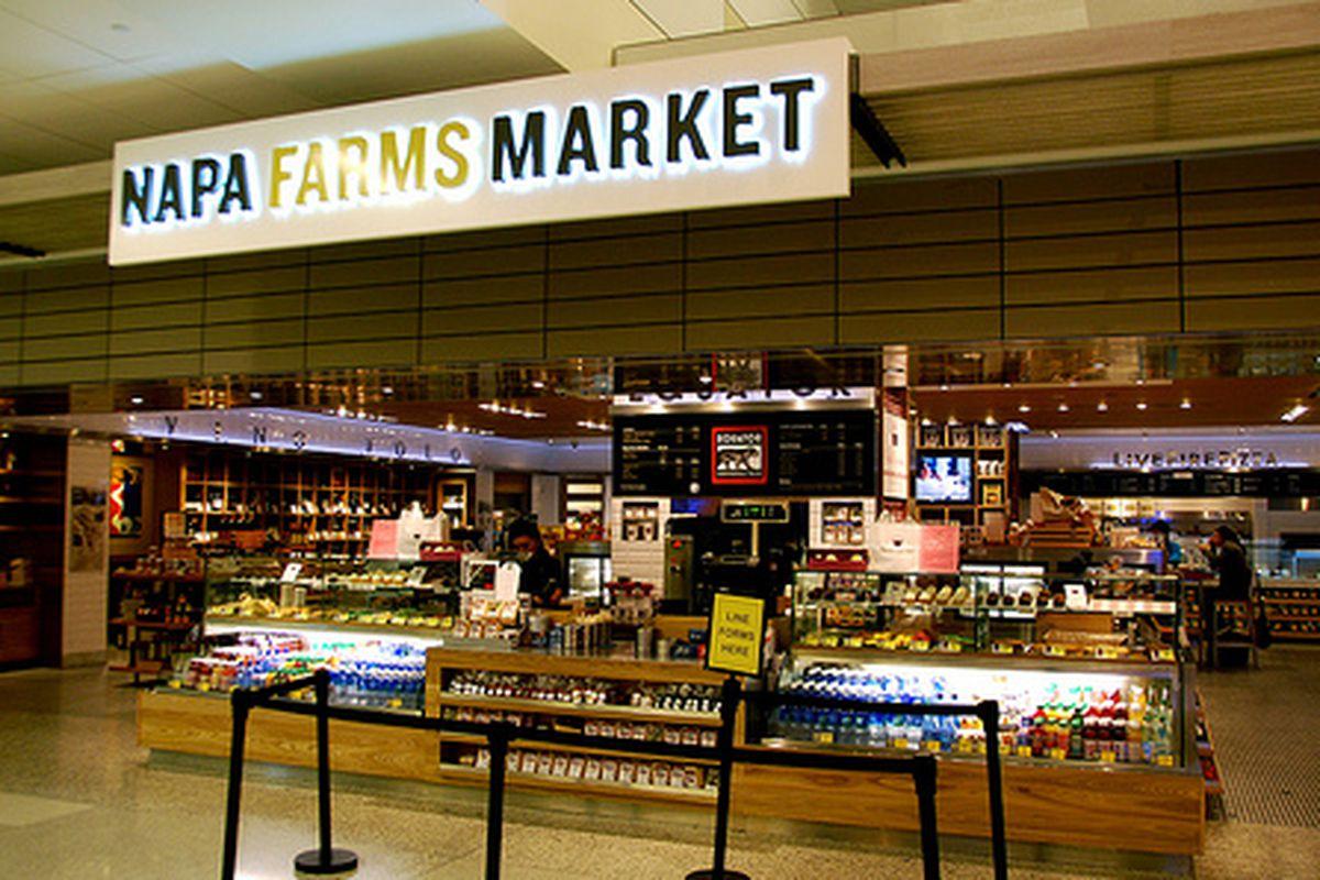Napa Farms Market, award-winner.