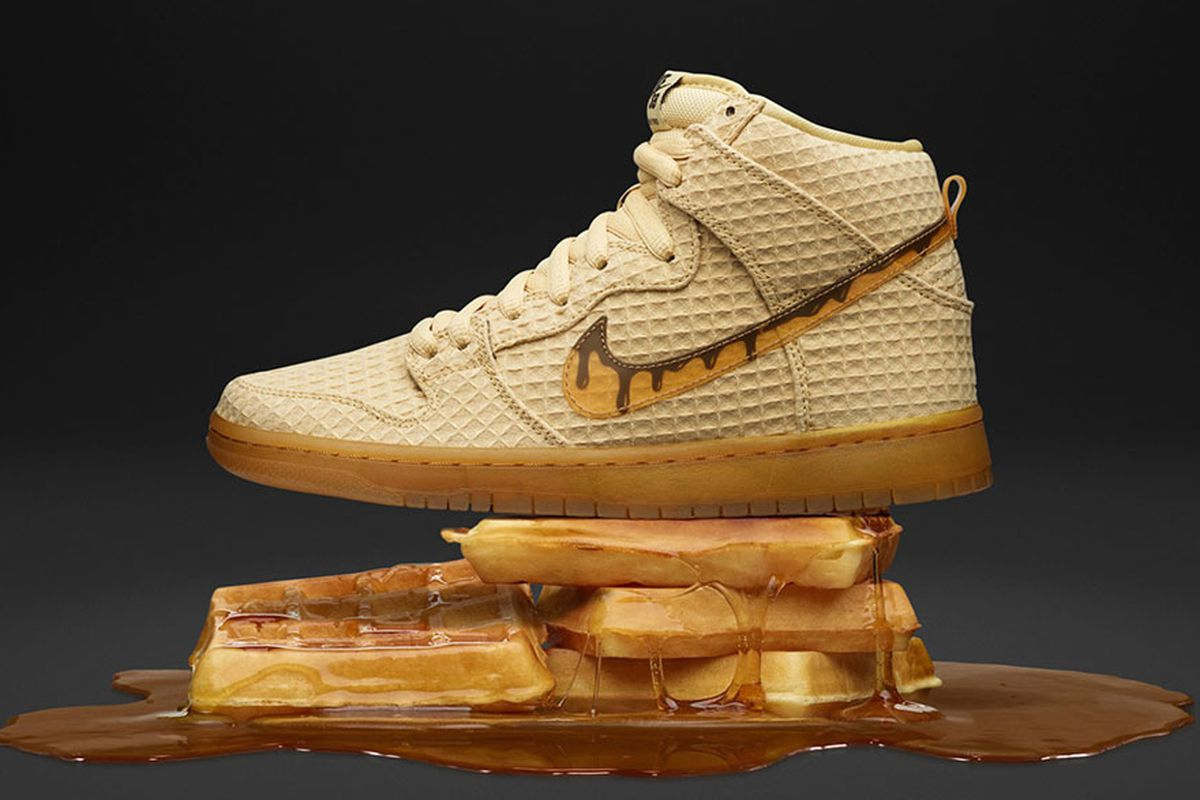 size 40 bea10 80f40 Nike Unleashes New Chicken and Waffles-Themed Sneaker