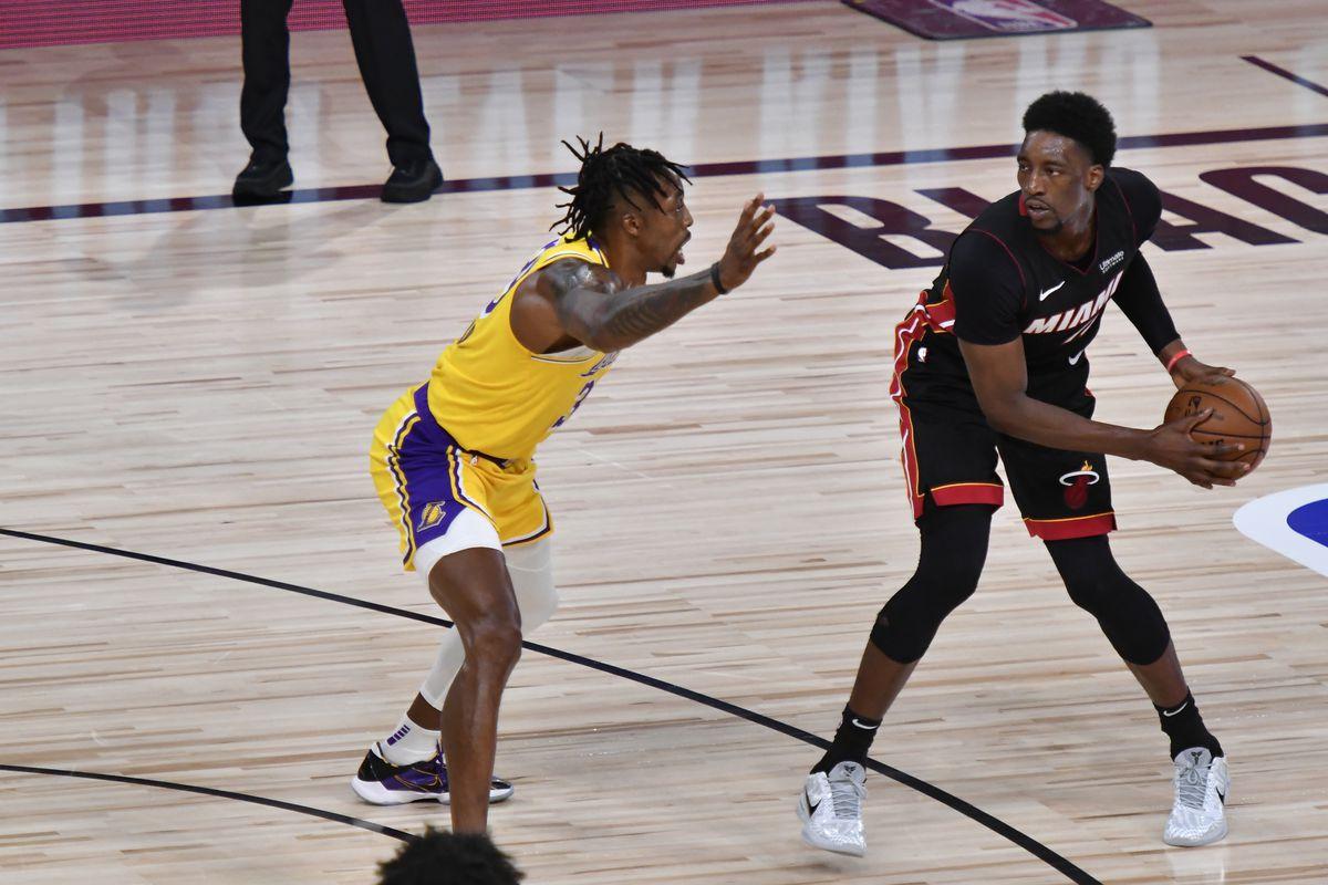 Nba Finals Bam Adebayo Goran Dragic Miss Game 2 Against Lakers Silver Screen And Roll