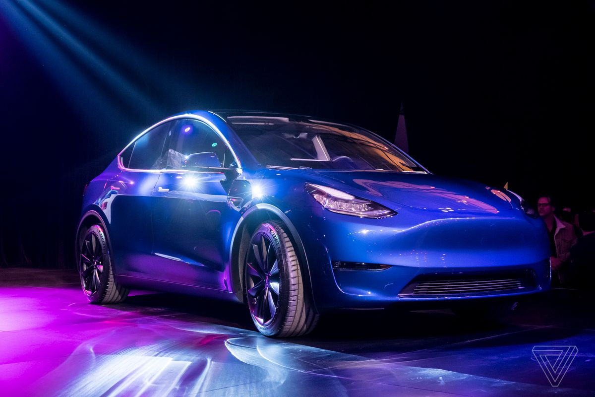 Tesla Y Image: Tesla Model Y: News And Updates From Elon Musk's