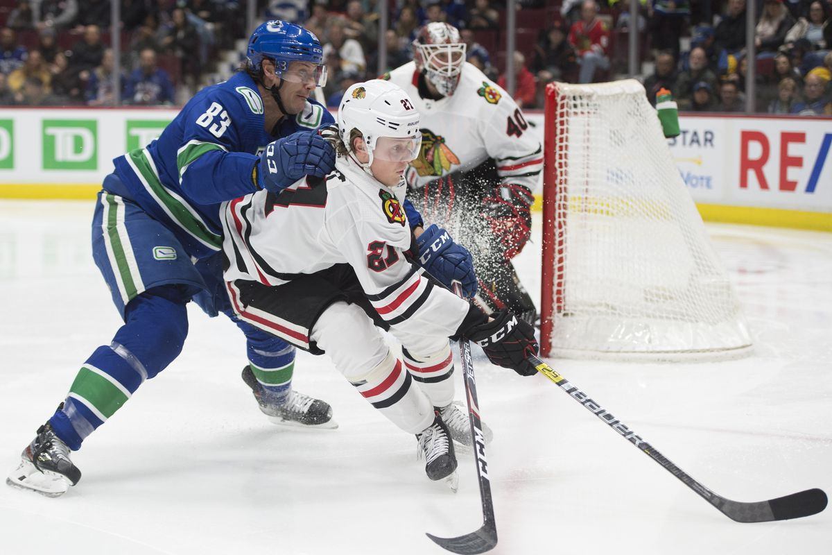 Chicago Blackhawks' Adam Boqvist expects more from himself, despite solid play