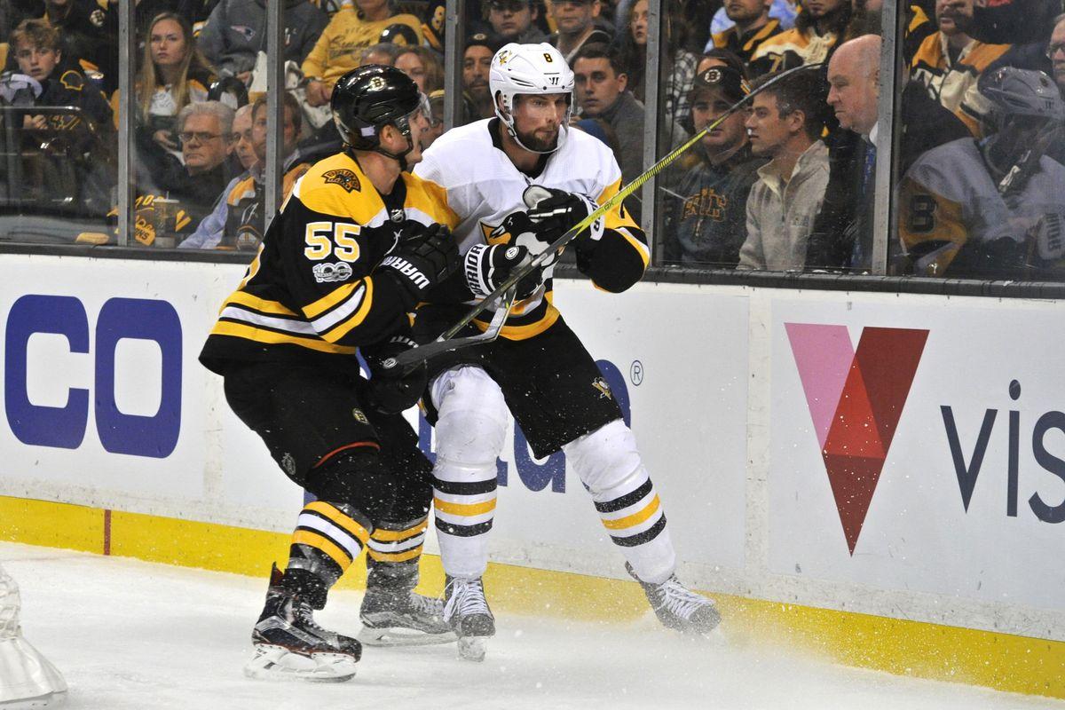 NHL: NOV 24 Penguins at Bruins
