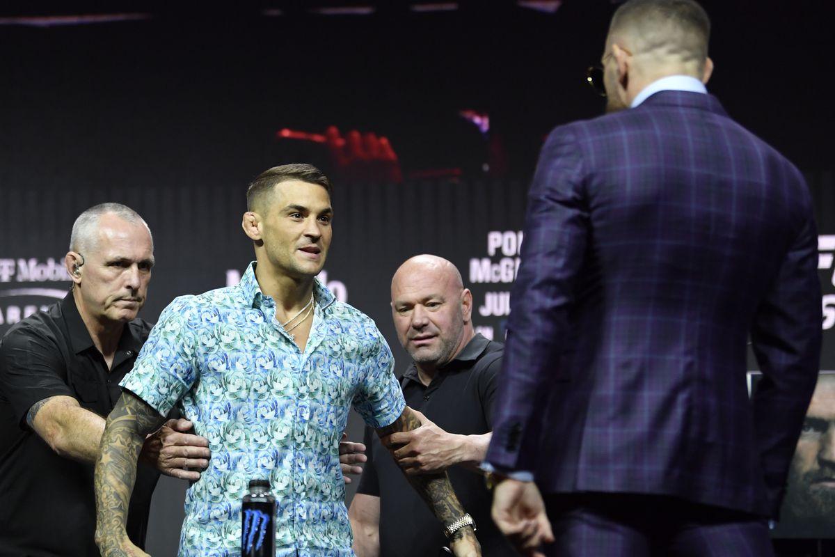 UFC 264 Press Conference