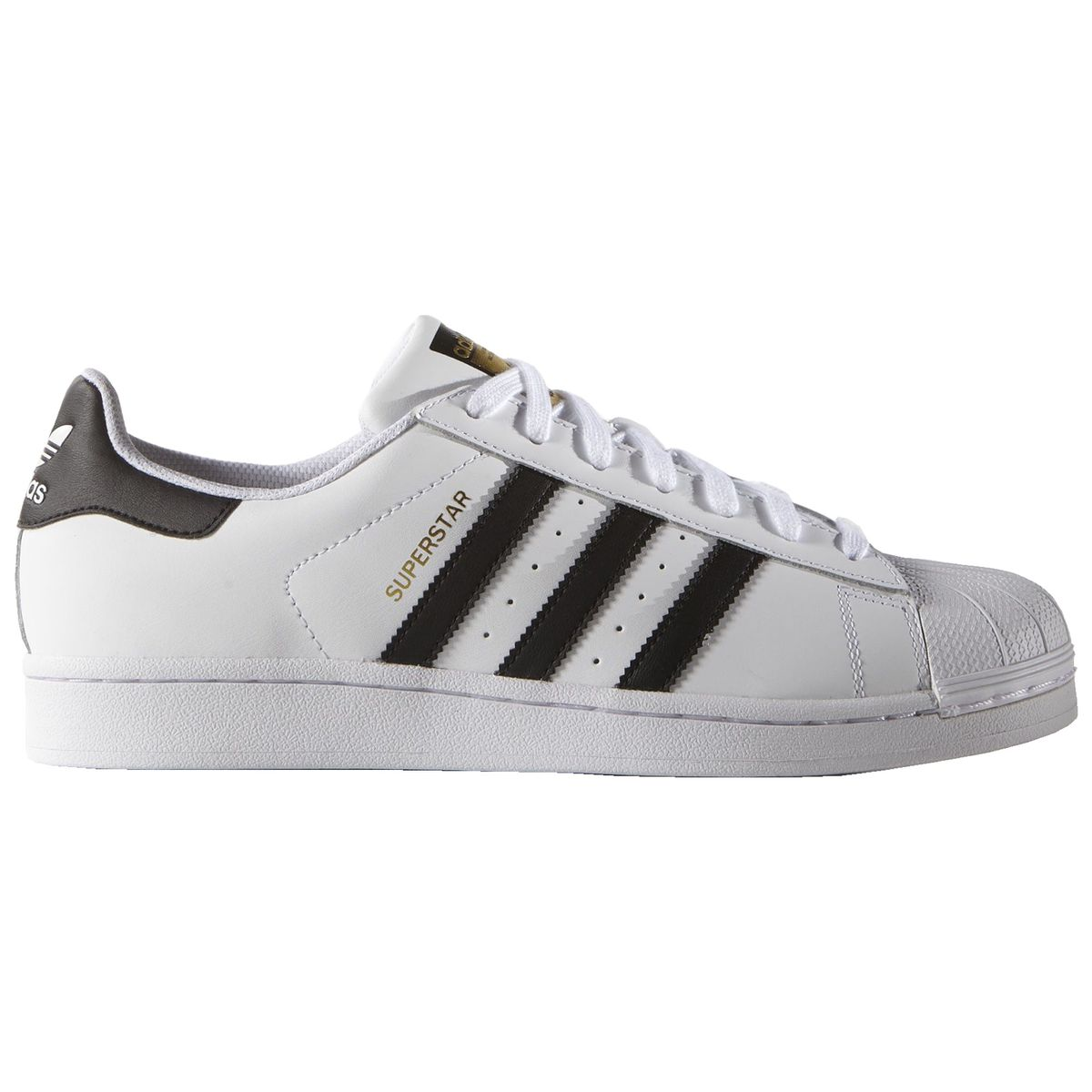 4a684e6d28a3 Adidas Superstar Foundation white black white