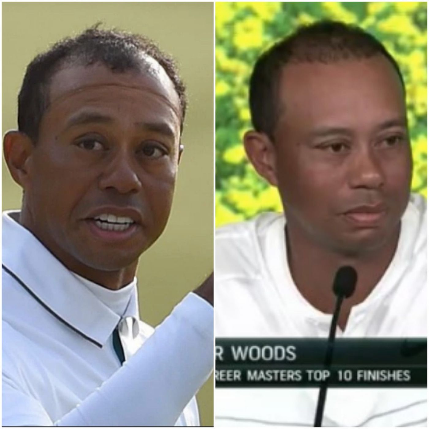 Masters 2018: Tiger Woods' hairline and golf game made a