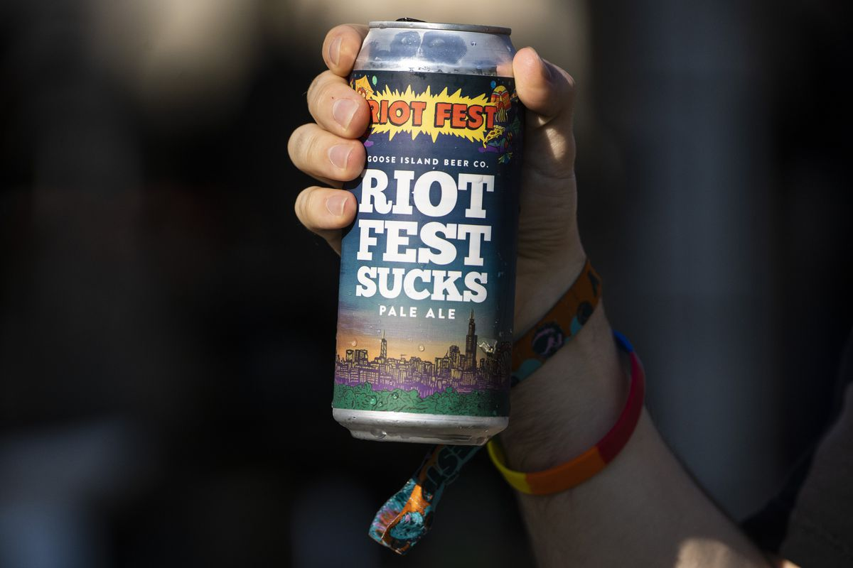 Anyone for some Riot Fest Pale Ale?